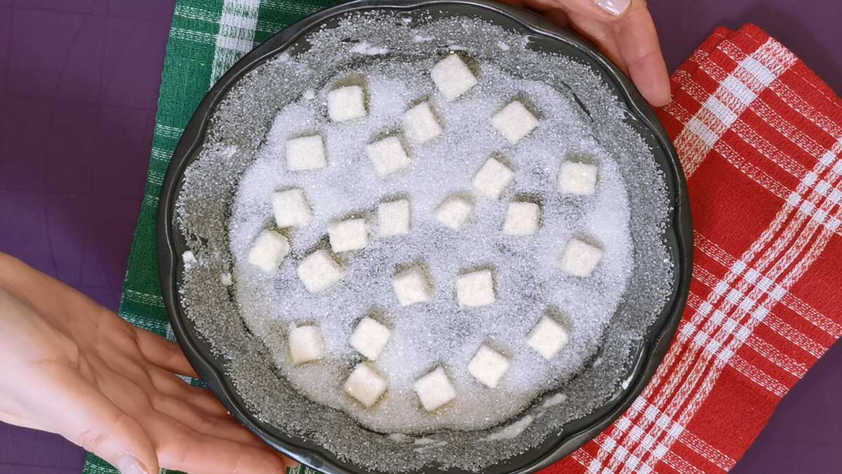Как превратить ватные яблоки в восхитительный десерт