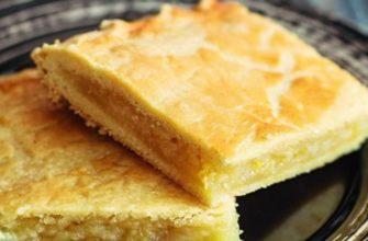 Самый зимний пирог из всех — лимонный «Принц» на мягком кефирном тесте