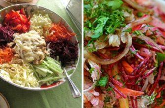 Рецепт знаменитого сибирского салата «Чафан»