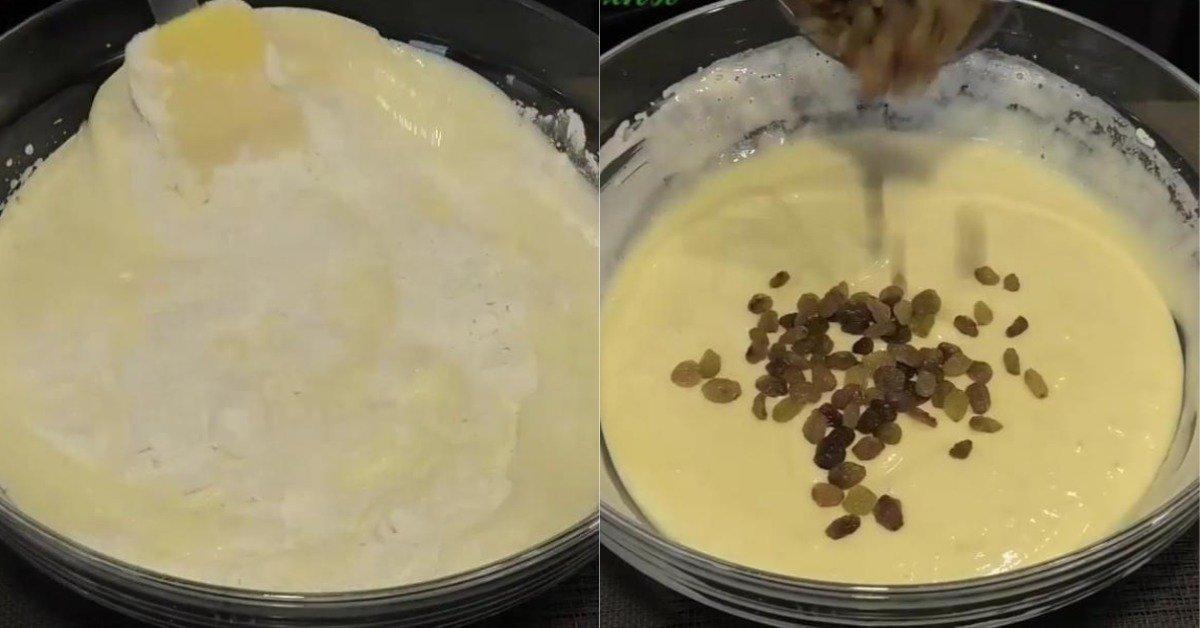 Один из простейших домашних кексов, который я готовлю на кефире