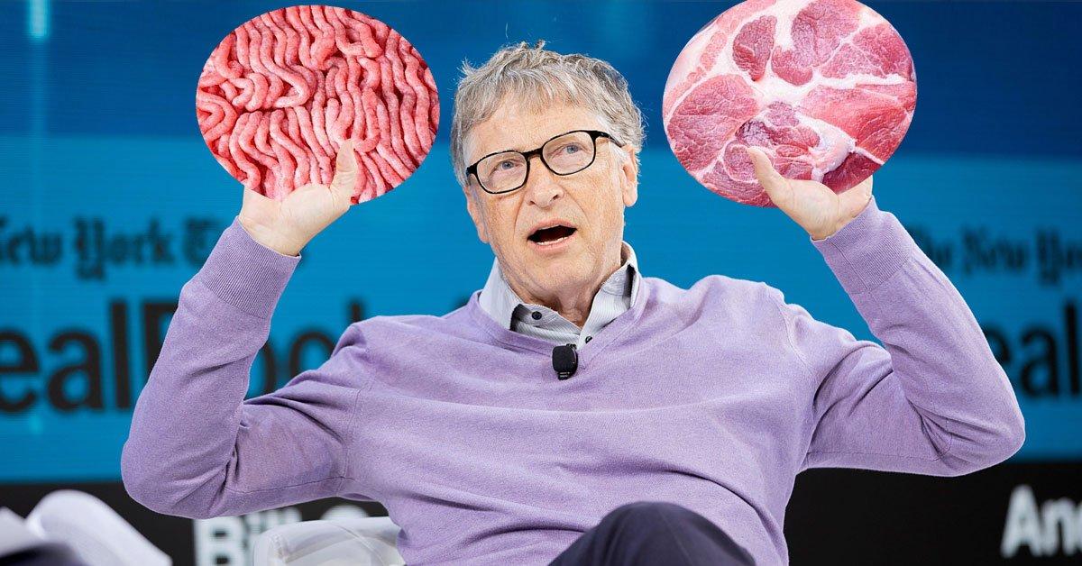 Почему Билл Гейтс призывает всех отказаться от говядины, хотя сам не вегетарианец