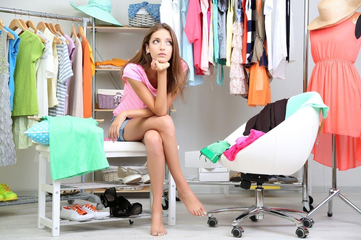 Какой одежды не бывает в шкафу у женщины, что знает себе цену