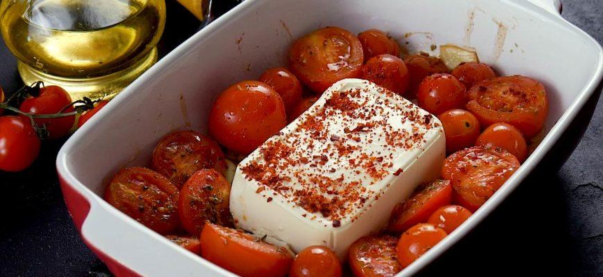 Паста с запеченным сыром