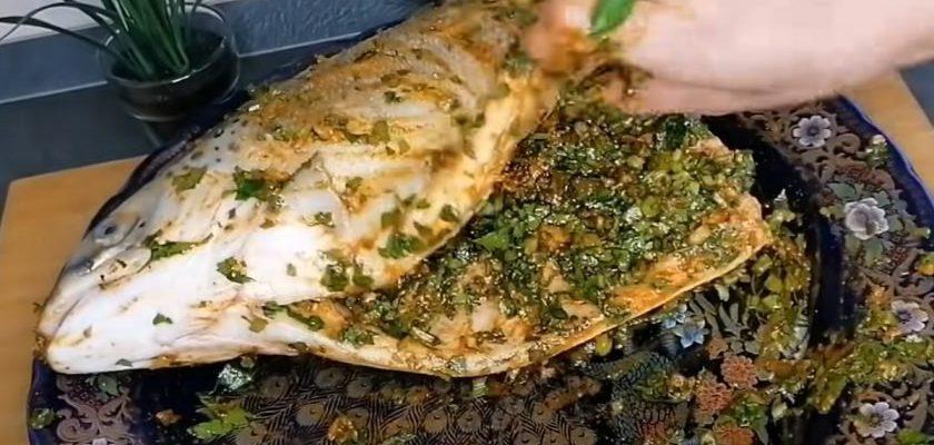 Рецепт той самой рыбы, которую подают в отелях Египта