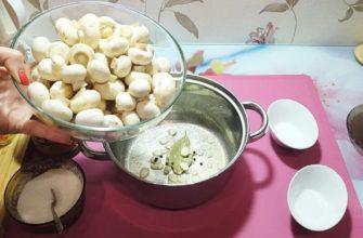 7 способов вкусно приготовить шампиньоны целиком