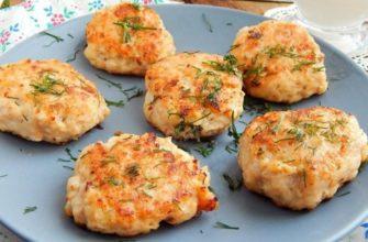 Рыбные оладушки без яиц