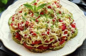 Почему многослойный салат с кабачками — любимая летняя еда