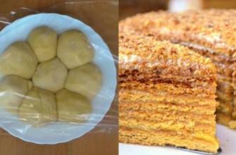 Рецепт простого медовика