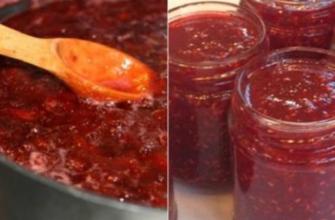 Рецепт варенья-пятиминутки в 1 прием из любого вида ягод
