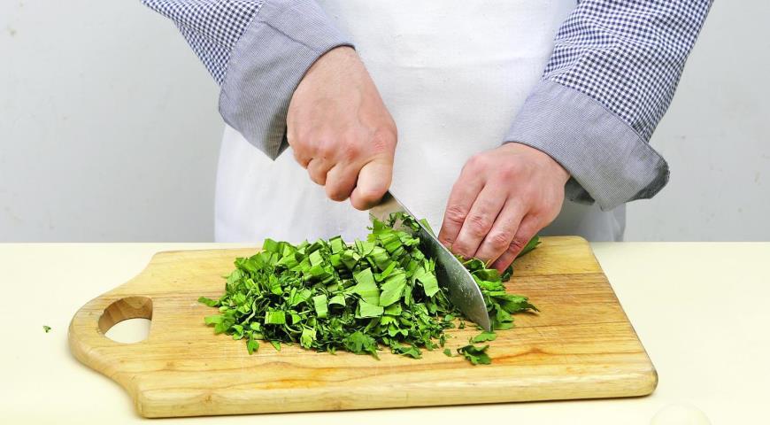 Сырные лепешки с зеленью и мацони