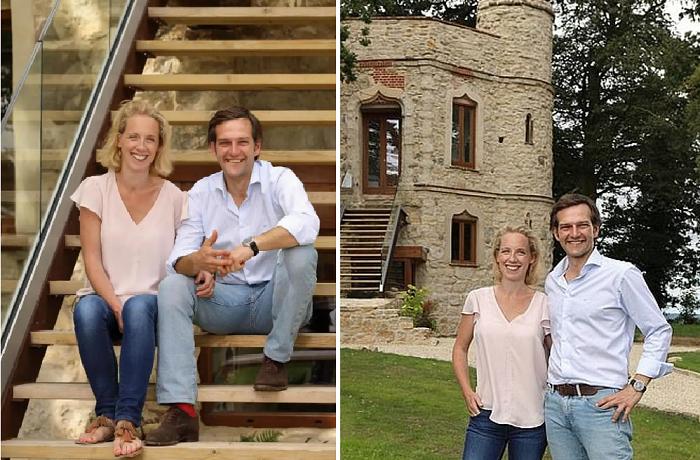 Архитектор приобрел исторические развалины и за год превратил их в настоящий замок