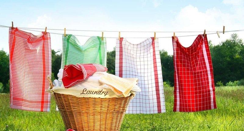 Не чепуха на постном масле, а лучший способ отбелить кухонные полотенца