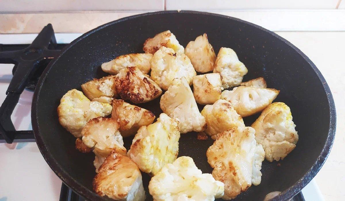 Холодная закуска из цветной капусты по-израильски