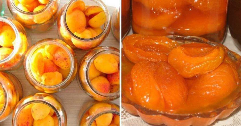 Пока абрикосы варятся — готовлю вторую партию. Муж едва успевает бегать в магазин за сахаром.