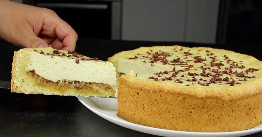 Песочное тесто и два вида начинки: выпечка, достойная праздничного стола
