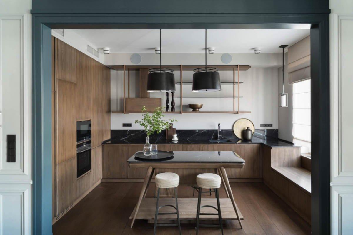 Как сделать подоконник на кухне функциональным: 12 примеров