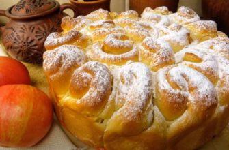 Свадебный яблочный пирог вкуснее шарлотки
