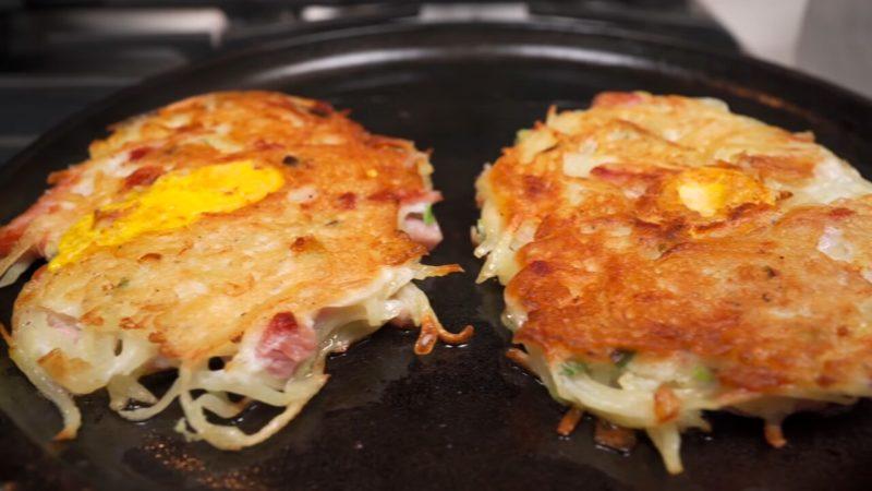 Новая подача картошки с яйцом на завтрак: красиво и удивительно вкусно