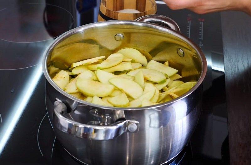 Баварский яблочный торт по рецепту Ольги Матвей