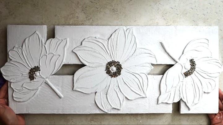 Такой декор покупают за большие деньги, а нужен всего лишь картонный ящик