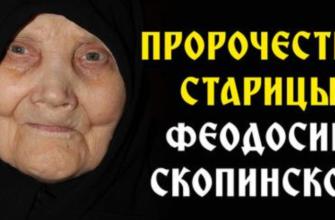 Матушка Феодосия Скопинская всем поможет, только попроси